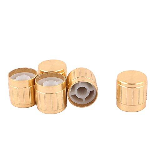 Aexit 5 stücke 5,5mm Rändelwelle C-d Verstärker Volume Tone Control Drehknöpfe (2d12ea097e049b79d9e416a27d9cc046)
