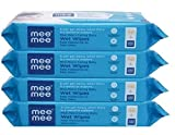 The Mee Mee Baby Wet Wipes are enriched with Aloe Vera Extracts which keep your baby's skin from drying up after a rigorous cleaning session. The wipes are soft and gentle, but also very effective. These are made of a spun lace, non-woven fabric and ...