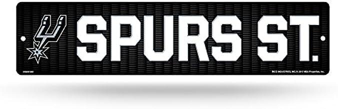 NBA San Antonio Spurs 16-inch Plastic Street Sign Décor