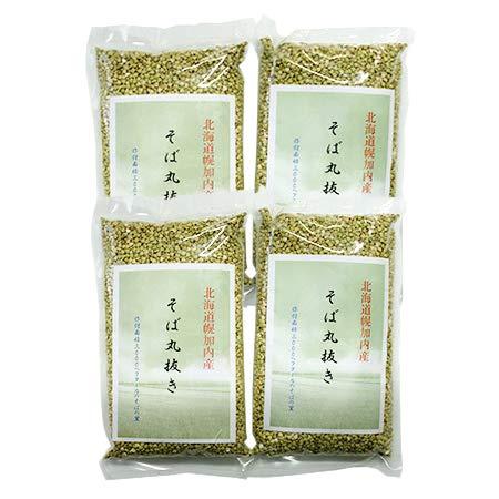 蕎麦のみ 国産 幌加内産 そばの実 2kg (500g×4) 蕎麦の実