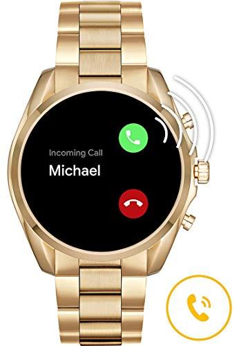 Micheal Kors Connected Smartwatch con tecnología Wear OS de Google, altavoz, frecuencia cardíaca, GPS, NFC y notificaciones smartwatch miniatura
