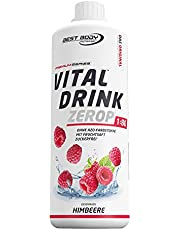 Best Body Nutrition Low Carb Vital Drink Raspberry - 1000 ml
