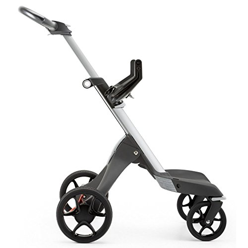 Stokke Xplory V5 Stroller, Black Melange