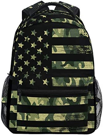 Camouflage backpacks for school