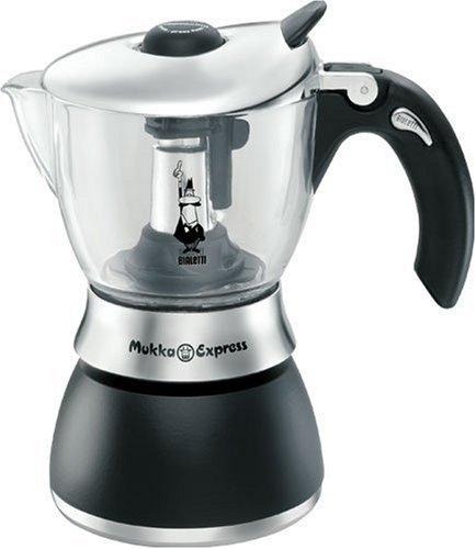 Bialetti: Mukka Express Vetro (Glass) 320ml (10.8Oz) Cappuccino Maker [ Italian Import ]: Amazon.es: Hogar