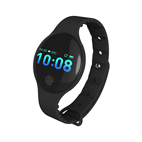 Vikan Fitness Tracker,Activity Tracker Watch with Heart Rate Monitor Waterproof Smart Fitness Band with Step Counter Calorie Counter Pedometer Watch for Kids Women and Men (Black New)