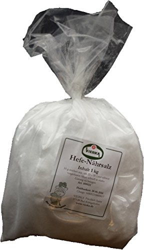 VIERKA-Hefenährsalz reines, hochwertiges Diamonphosphat 1 KG
