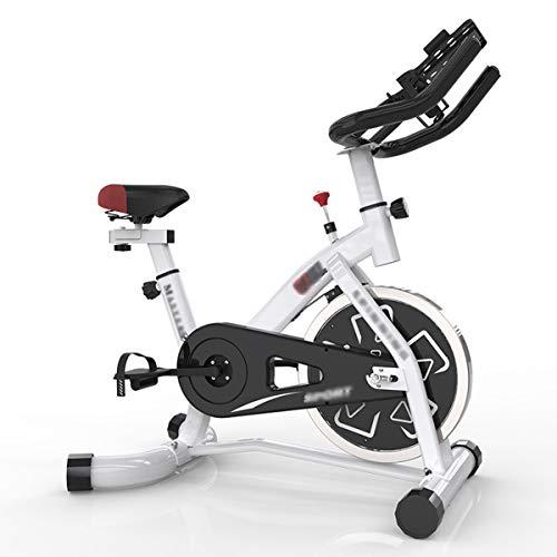 YMXLXL F-Bike, Bicicleta EstáTica con Sensores De Pulso De Mano, con/Sin Respaldo, Plegable, Unisex,Black