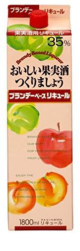 合同酒精『おいしい果実酒をつくりましょう ブランデーベースリキュール』