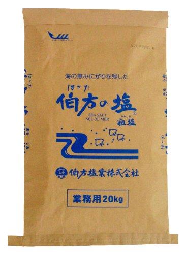 業務用 伯方の塩 20kg
