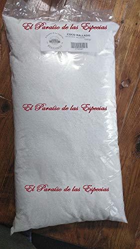 Coco Rallado Sin Azúcar 5000 grs - Coco Seco Natural 100% (Imágenes Reales del producto)
