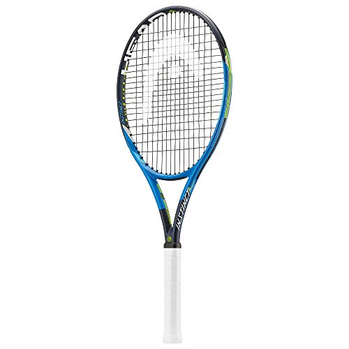 Head Graphene Touch Instinct Adaptive Raqueta de Tenis, Hombre, Negro/Azul, U20