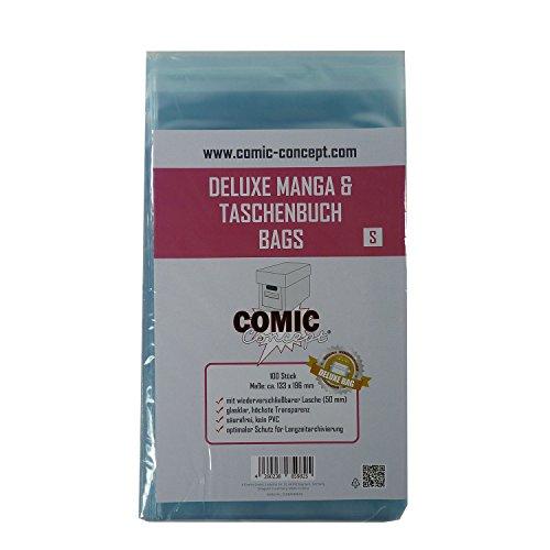 Unbekannt Comic Concept Deluxe Manga & Taschenbuch Bags S (133 x 196 mm)