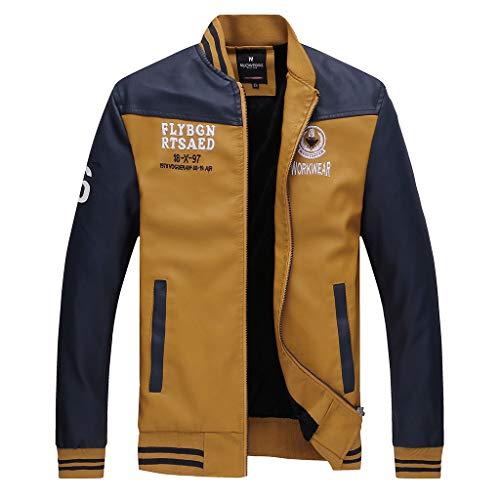 Zolimx Herren Lederjacke Echtleder Jacke in vielen Varianten und Farben Bomber Echtleder Bomberjacke Herren Lederjacke komplette Kollektion