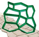 GHZ-Matra 106196-A D.I.Y. Forma per selciato in pietra naturale, Verde