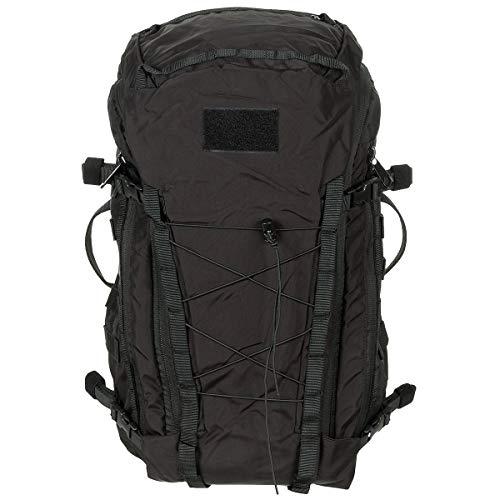MFH US Army Rucksack Mission 30 30 Liter Geocaching Outdoor Wandern Trekkingrucksack Backpack viele Farben (Schwarz)