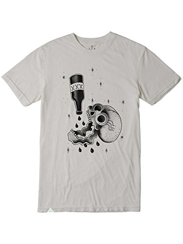 ALTAMONT Skull Juice t-Shirt pour Adulte Medium Blanc - Os