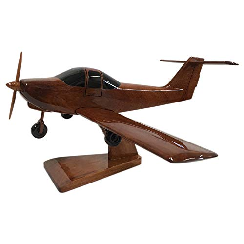 Piper Tomahawk Vliegtuig/vliegtuig - Algemeen Vliegtuig - Executive Houten Desktop Model (Mahogany)