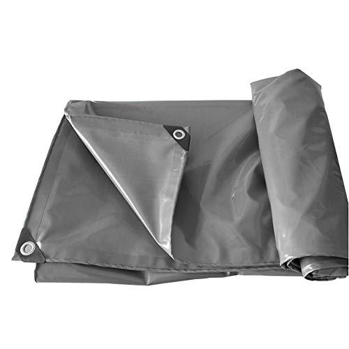 MAGFYLY Grote Camping Tuin Zware Duty Tarpaulin Waterdichte Versterkte Grijze Tent Truck Trailer Tarp Cover, UV, Rot and Tear Protection, in Meerdere Maten Tarps Waterdicht