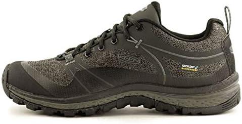 KEEN Women's Terradora Waterproof Hiking Shoe, Raven/Gargoyle