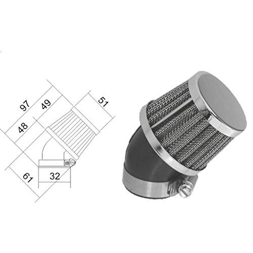 Luftfilter Sport 32mm 45°