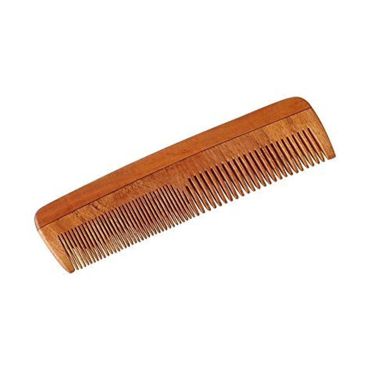 明るくする支店ボランティアHealthAndYoga(TM) Handcrafted Neem Wood Comb - Non-Static and Eco-Friendly- Great for Scalp and Hair Health -7