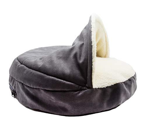 YMBKFan Cómodo Cama Perro Seguro Cueva Evitar Nido Universal Perrera Deep Sleep Cama para Gato Bolsa De Dormir Propio-Calentamiento Cat House Casa para Mascotas-Un 114 * 10cm(45 * 4inch)