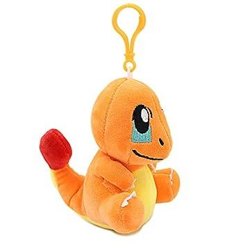 Charmander Plush Toys for Kids 5  Inch Stuffed Plushie Backpack Decorations Bag Pendant Dolls Gift for Boys Children