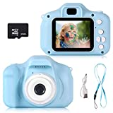 Kids Camera,Trekoo HD1080 Children Digital Cameras with 32GB Memory Card Gifts for 3-12