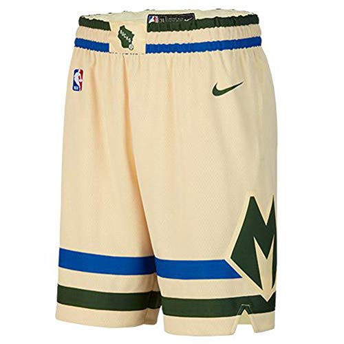 Nike MIL NBA City Edition Swingman Shorts BV5876-280 Size XL