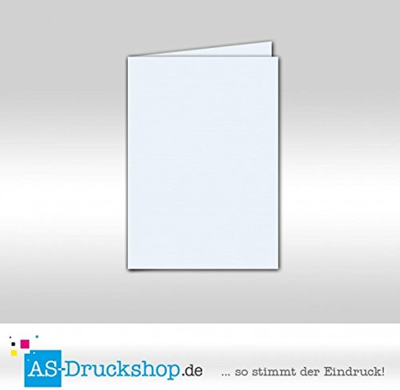 Faltkarte Doppelkarte - Hellblau 100 Stück DIN A6 A6 A6 B0794YVVFK | Schnelle Lieferung  2db0de