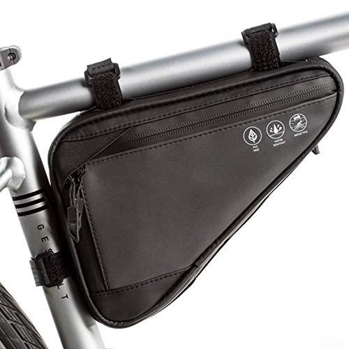HOMPER Fahrradtasche 1.2L Fahrrad Dreieckstasche Radtasche Rahmen Wasserdicht Radtasche Triangle Bag Fahrradrahmentasche Fahrrad Werkzeugtasche für Alle Fahrräder