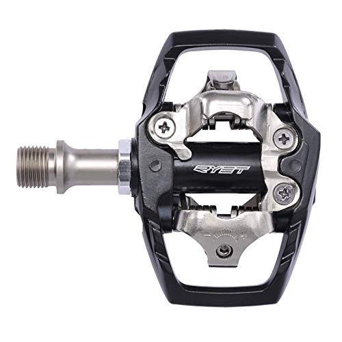 Mountain Bike Pedals MTB PedalUltralight Sealed Bearing Cycling Bike Pedals Aluminum Pedals Bicycle Pedals Mountain Bike Lock Pedals