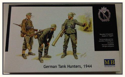 Masterbox 1:35 - German Tank Hunters, 1944 Set Personaggi - MAS3515