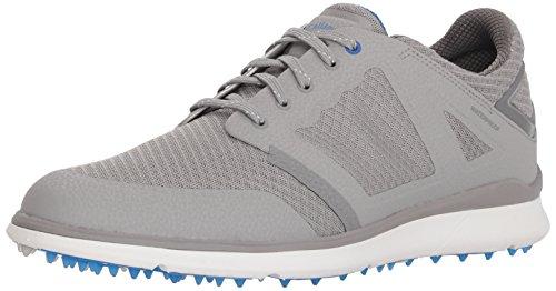 Callaway Men's Highland Golf Shoe, Grey/Blue, 10 M US