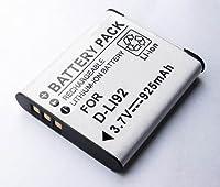 単品』 D-LI92 Pentax ペンタックス 充電式リチウムイオンバッテリー 互換充電池 Optio 対応