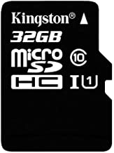 SanFlash Kingston 32GB React MicroSDHC for Sony Xperia 5 Plus with SD Adapter (100MBs Works with Kingston)