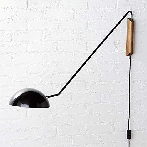 WRMING Lámpara de Pared Industrial con Interruptor y Cable, Retro Vintage Interior...