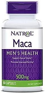 Natrol Maca 500mg, 60Capsules