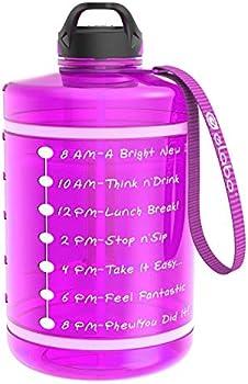 elabo 1 Gallon Motivational Water Bottle