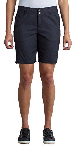 ExOfficio Women's Costera Lightweight Bermuda Shorts, Carbon, Size 4