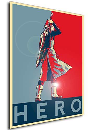 Instabuy Poster - Propaganda - Dragon Quest XI - Hero Variant 2 A4 30x21