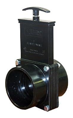"""Valterra 7301 ABS Gate Valve, Black, 3"""" Slip from Valterra Products"""