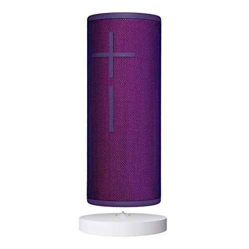 Ultimate Ears Boom 3 Bluetooth Lautsprecher (Wasserdichter 360°-Sound) - Ultraviolett + Power Up Ladestation