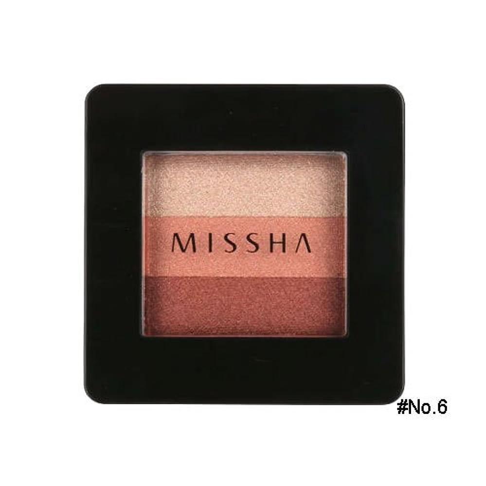 公演オーバーコート高度ミシャ(MISSHA) トリプルシャドウ 2g No.6(マルサラレッド) [並行輸入品]