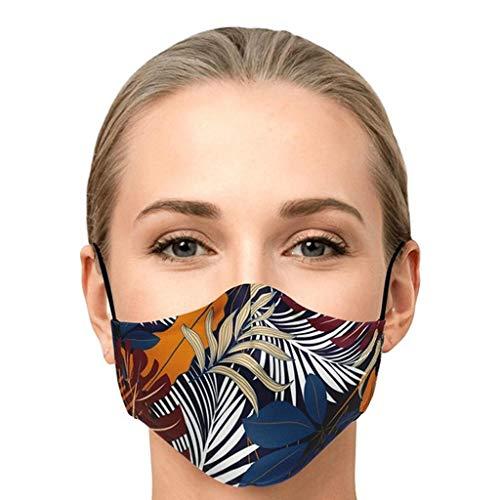 SINGOing Mund Shield Herren & Damen - Mundschutz aus Baumwolle - Face Bandans mit Druck - Atmungsaktiv Motorrad Gesicht Mundschutz Mund-Tuch Halsschlauch Halstuch