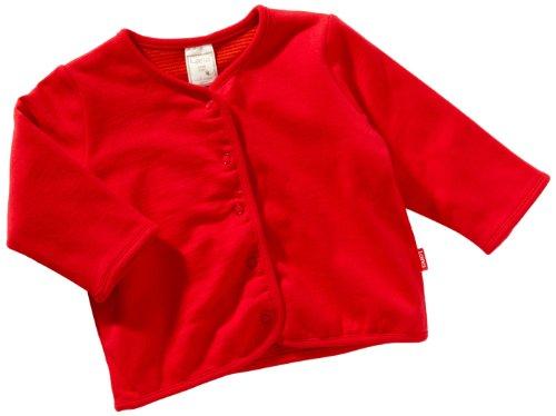 LANA natural wear Unisex - Baby Babybekleidung/ Jacken 900 3007 5045, Gr. 98/104, Rot (455 tomate)