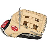 Rawlings Heart of the Hide Baseball Glove, Camel/Black/Grey, 12.75 inch, Pro H Web, Right Hand Throw