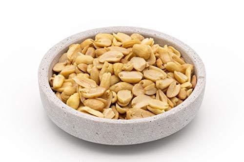 Cacahuetes orgánicos de comercio justo - 1 kg - Blanqueados, sin tostar y sin sal - Alimentos crudos - De Uzbekistán