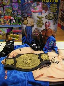 giochi preziosi 06711 costume rey mysterio wrestling